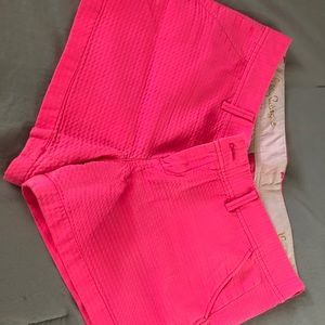 Lilly Pulitzer pink shorts